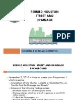 Rebuild Houston Street and Drainage