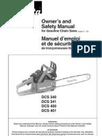 Makita DCS400 User Manual