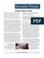 Carbon Credits Promting Sustainable Development or Trading in Pollution