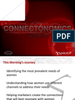 Y! General Market Women Connectonomics