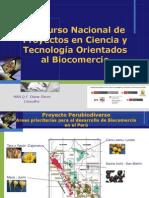 Concurso Nacional de Proyectos Diana Flores