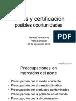 Sellos y certificación.YanapaiConsultores
