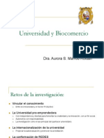 Biocomercio y Universidad Aurora Marrou