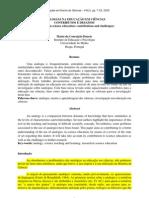 ANALOGIAS NA EDUCAÇÃO EM CIÊNCIAS CONTRIBUTOS E DESAFIOS