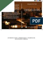 Alejandro de Valle Introducción a problemas de sociología urbana