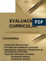 Evaluacion Curricular 22503