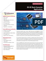 Dc to Dc Buck Convertors Applications
