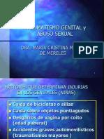 Traumatismo Genital y Abuso Sexual-2010