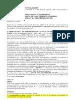 DNPM Portaria 441-2009 Dispensa de Titulo Minerario