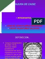 CONJURA DE CADIZ