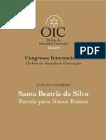 Congresso Internacional - Ordem da Imaculada Conceição