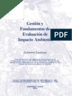 Gestión y Fundamentos de Evaluacion de Impacto Ambiental
