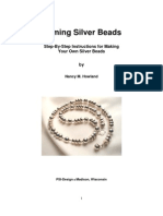 Doming Silver Beads