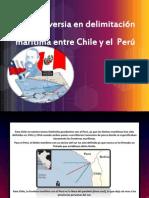 Controversia en delimitación marítima entre Chile y el