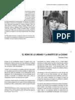 61-98 EL REINO DE LO URBANO Y LA MUERTE DE LA CIUDAD