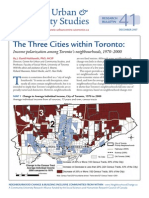 CUCSRB41 Hulchanski Three Cities Toronto