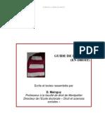 Guide de La These en Droit
