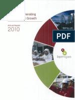 BP Migas AnnualReport2010