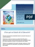 Informe Estado de La Educacion 2011