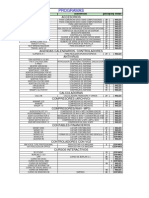 Lista de Super Programas