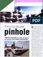 Matéria sobre Pinhole na Fotografe Melhor