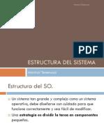 Estructura Del Sistema