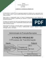 Adm Produção - Apostila 01 -  Planejamento e Controle da Produção