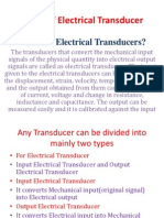 Types of Electrical Transducer Ppt