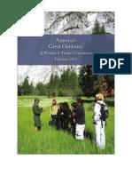 2011 America's Great Outdoors Progress Report