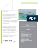 Journey I 15 day Galapagos Islands Cruise departing Friday
