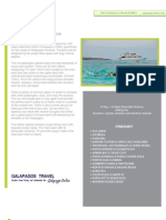 Journey I 15 day Galapagos Islands Cruise Itinerary for cruises departing every other Tuesday