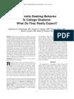Antibiotic-Seeking Behavior