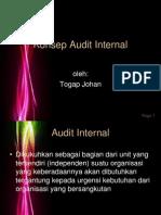 Konsep Audit Internal