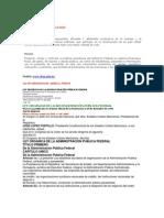 Atribuciones y Funciones de La SHCP