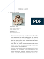 Mineral Garnet