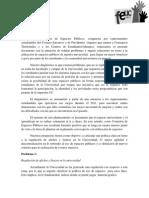 Comisión espacios públicos documento final