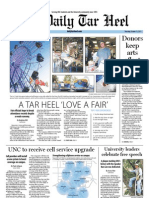The Daily Tar Heel for October 13, 2011