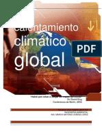 calentamiento climático