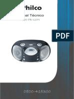 Manual de Serviço System Mod PB120N Philco B.