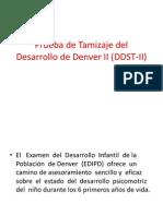 TABLAS Prueba de Tamizaje Del Desarrollo de Denver II