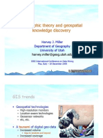 Geographic Theory and Geospatial Knowledge Discovery - Final