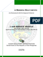 PBD Service Vehicle
