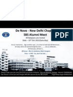 De Novo - New Delhi Chapter