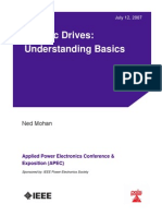Electrical Drives.understanding Basics
