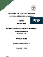 Modulo.31.Ginecologia.ambulat Ciclo Viii