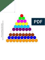 Ćwiczenia do dużych kolorowych schodków Montessori