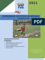 Entrenador de Futbol de Menores Modulo 3 Semana 1 Ok