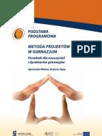 Metoda projektów w gimnazjum, Agnieszka Mikina, Bożena Zając