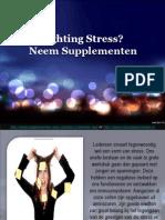 Wat Zijn de Beste Supplementen voor Stress?
