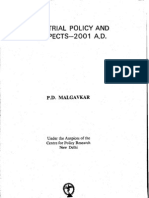 Industrial Policy and Prospects 2001 a.d